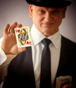 Close up magician George Stas