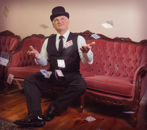 Magician George Stas of Adelaide Magic - Corporate Magician Australia