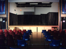 Our curtain system can transform just about any stage into a great theatrical performing space...