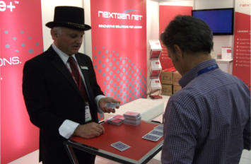 trade show magician - corporate events - MFAA magician Adelaide - MFAA magician Sydney